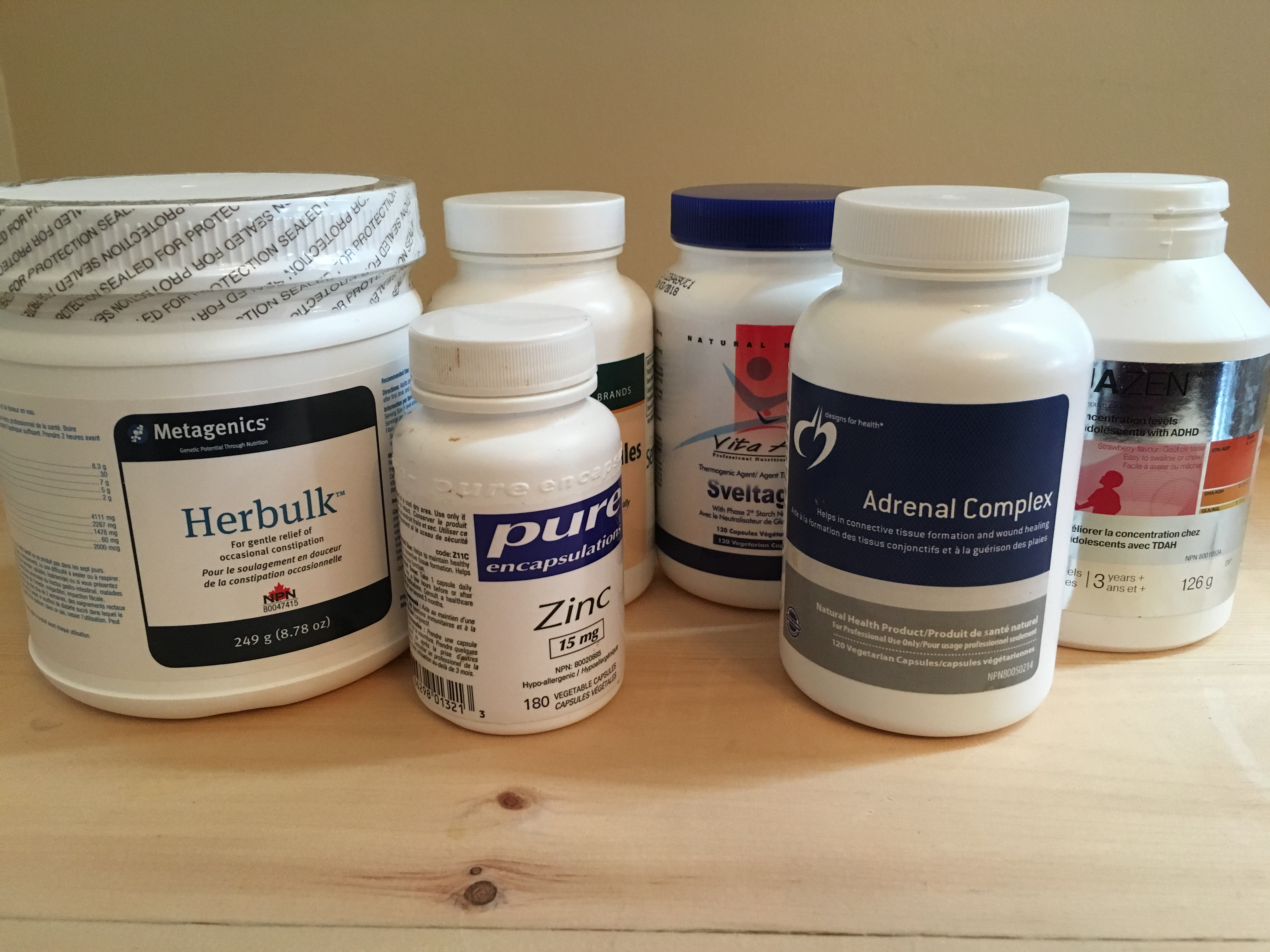 Various Supplements